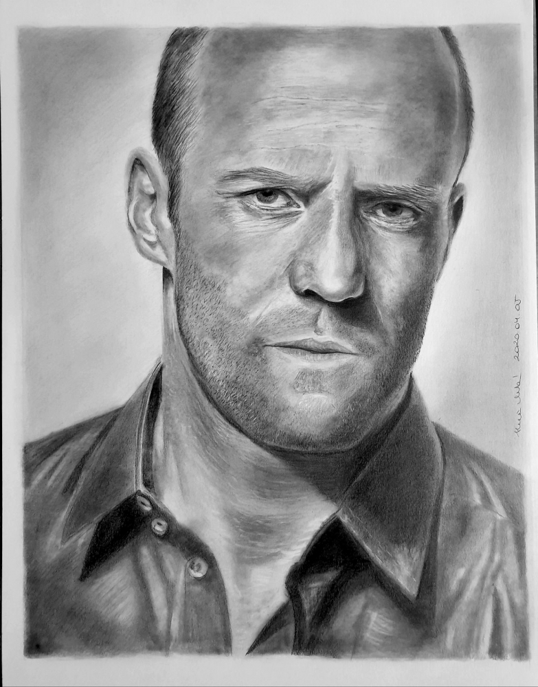 Jason Statham by mklari77